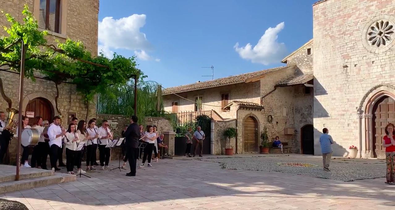 """""""SaràBanda"""": una banda per Vallo di Nera"""