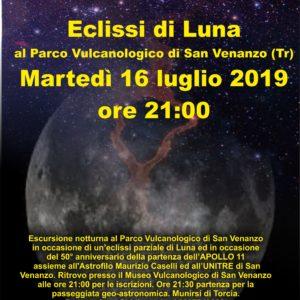 Eclissi di luna al Parco Vulcanologico